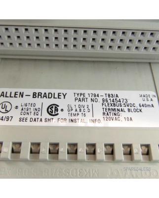 Allen Bradley Terminal Base 1794-TB3/A GEB