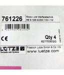Lütze Modul-und Interfacetechnik RE 6-1226 (4Stk.) OVP