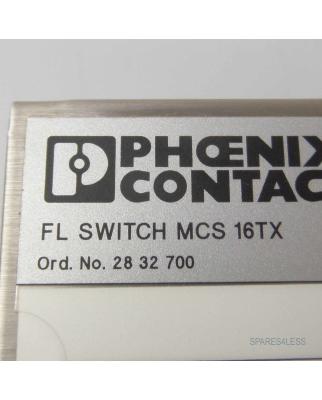 Phoenix Contact FL Switch MCS16TX 2832700 NOV