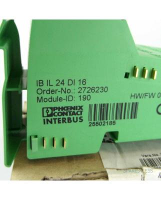 Phoenix Contact IB IL 24 DI 16 2726230 OVP
