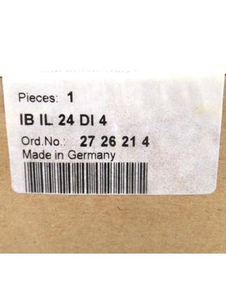 Phoenix Contact IB IL 24 DI 4 2726214 SIE