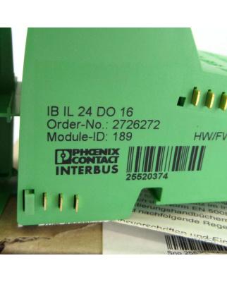 Phoenix Contact IB IL 24 DO 16 2726272 OVP