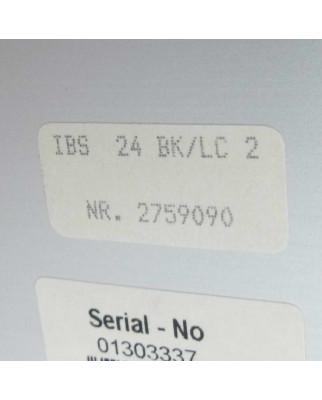 Phoenix Contact IBS 24 BK/LC2  2759090 OVP