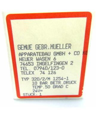 GEMÜ Gebr. Müller pneumatisches Ventil 320-1 OVP