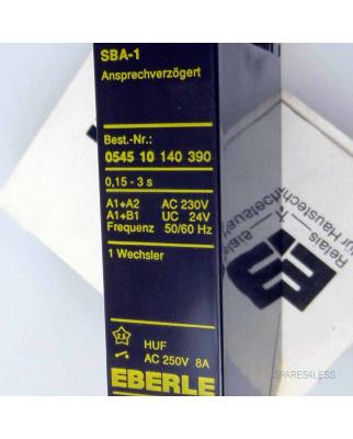 EBERLE Zeitrelais SBA1 054510140390 OVP