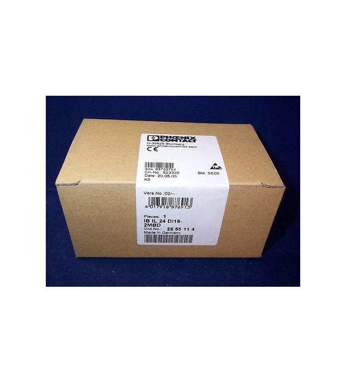 Phoenix Contact IB IL 24 DI16-2MBD 2855114 SIE