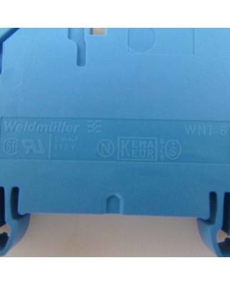 Weidmüller Neutralleiter-Trenn-Reihenklemmen WNT 6 10x3 1010880000 (50Stk.) OVP