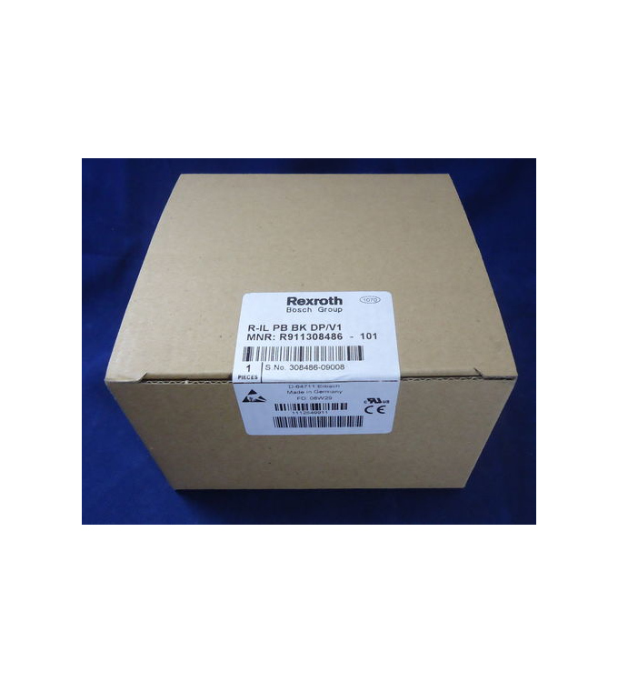Rexroth PROFIBUS-Buskoppler R-IL PB BK DP/V1 MNR: R911308486 SIE