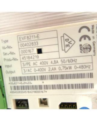 Lenze Frequenzumrichter ID 00402833 EVF8211-E GEB