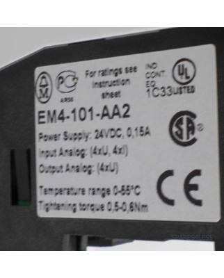 Klöckner Moeller Analog-Modul EM4-101-AA2 GEB