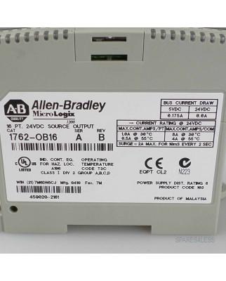 Allen Bradley Micro Logix Output Modul 1762-OB16 GEB