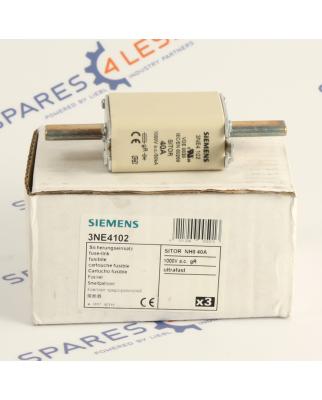 Siemens SITOR Sicherungseinsatz 3NE4102 40A OVP/NOV