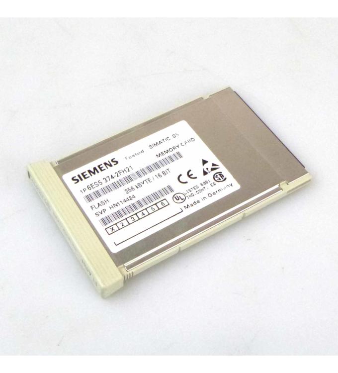 SIMATIC S5 SPEICHER 374 6ES5 374-2FH21 ,256KB GEB