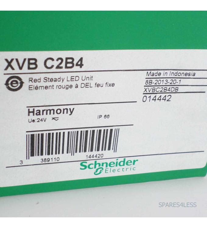 used rot Schneider Electric XVB-C2B4 XVBC2B4 Leuchtelement