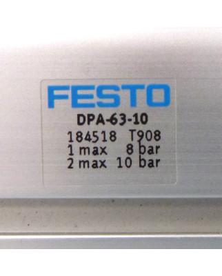 Festo Druckbooster DPA-63-10 184518 + JH-5/2-D-2-C 683049 NOV