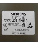 Simatic S5 DI421 6ES5 421-8MA12 GEB