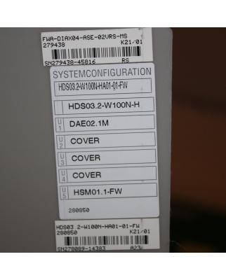 INDRAMAT AC Servo Controller HDS03.2-W100N-H NOV