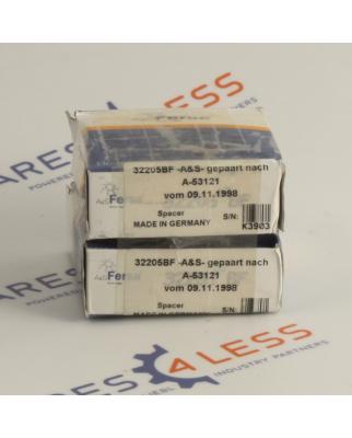 A&S Fersa  Kugellager 32205BF 2Stk.  gepaart nach...