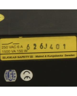 Jokab Safety Sicherheitsrelais JSR1T-8S 250V 6A 150W GEB