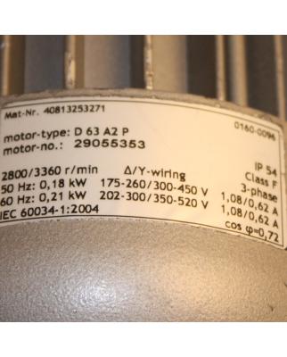 Becker Drehschieber-Vakuumpumpe VT4.4 150/150 mbar GEB