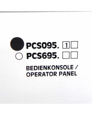 Lauer Bedienkonsole OP Operator Panel PCS095 topline mini...