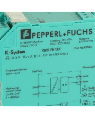 Pepperl&Fuchs Fieldbus Power Repeater KLD2-PR-1.IEC...