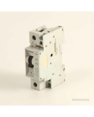 Siemens Leitungsschutzschalter 5SX2110-7  + 5SX91 GEB