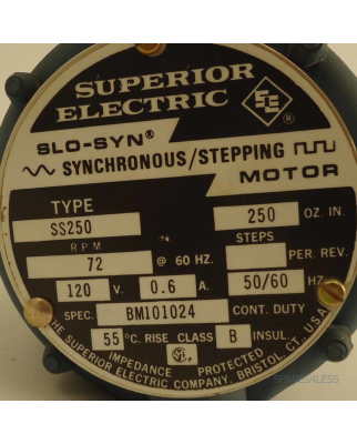 Superior electric spares4less g nstige for Superior electric slo syn motor