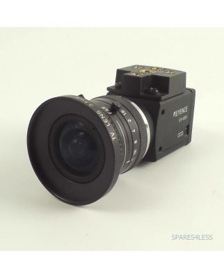 Keyence CCD Kamera CV-020 mit Objektiv GEB