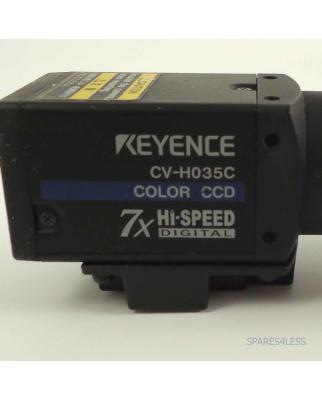 Keyence Color CCD Kamera CV-H35C mit Objektiv GEB