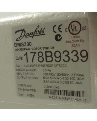 Danfoss Motorstarter DMS330 178B9339 3kW OVP