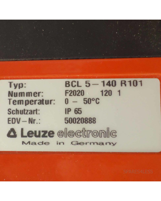 Leuze Barcodescanner BCL5-140-R101 GEB