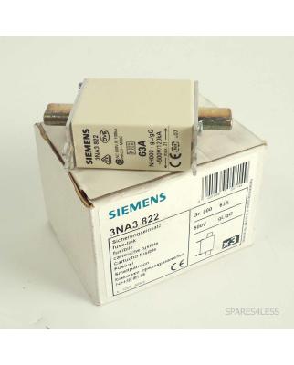 Siemens  NH-Sicherungseinsatz 3NA3 822 (3Stk.) OVP