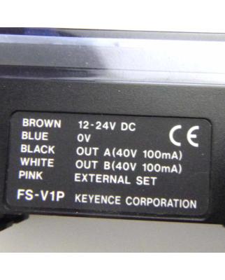 Keyence Fiberoptik-Sensor FS-V1P OVP