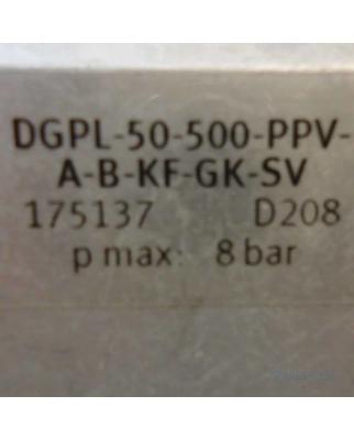 Festo Linearantrieb DGPL-50-500-PPV-A-B-KF-GK-SV 175137 NOV